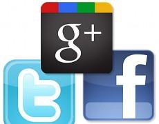 Facebook, Twitter, Google+ ?
