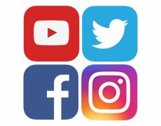 Facebook, Instagram, Twitter ?